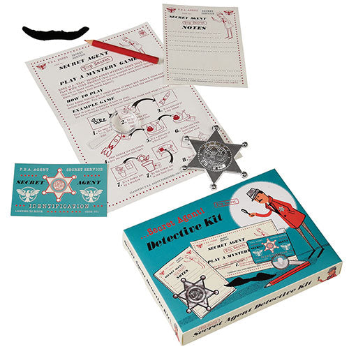 Secret Agent Spy Set Kit