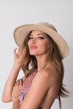 "Kirana WANDA 15"" large brim hat in Tan"