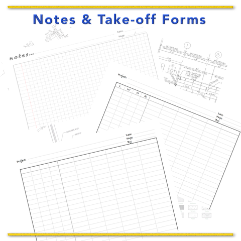 Notes  &  Take-off  Forms