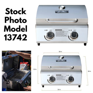 13742 19 in. Tabletop Grill