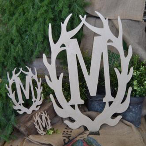 Antler Single Letter Monogram