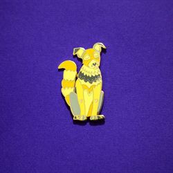 Dog Chinese Zodiac Enamel Pin