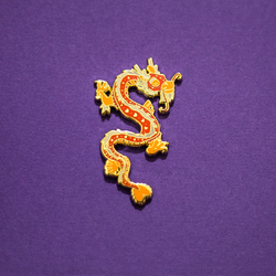 Dragon Chinese Zodiac Enamel Pin