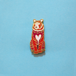 Tiger Chinese Zodiac Enamel Pin