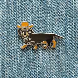 Dachshund, Get A Long Little Doggie Enamel Pin