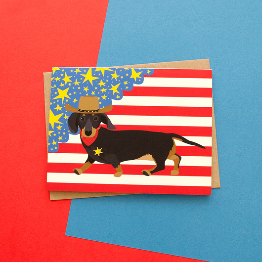 Get a long little doggie handmade dachshund greeting card malz palz get a long little doggie handmade dachshund greeting card m4hsunfo