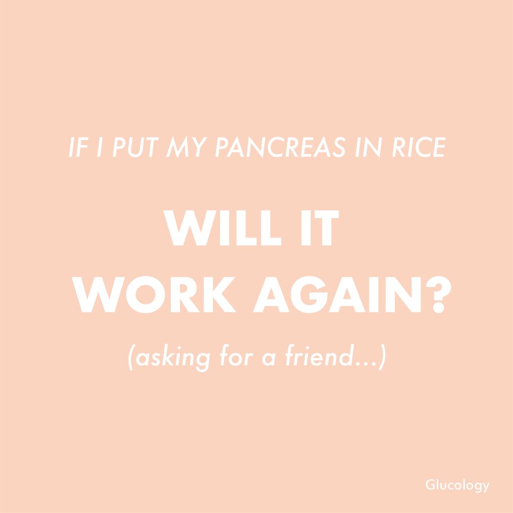 Rice will fix our Pancreas!