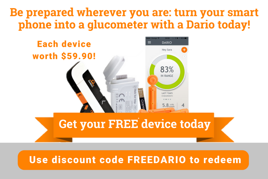 Dario Blood Glucose Meter - IBD Medical