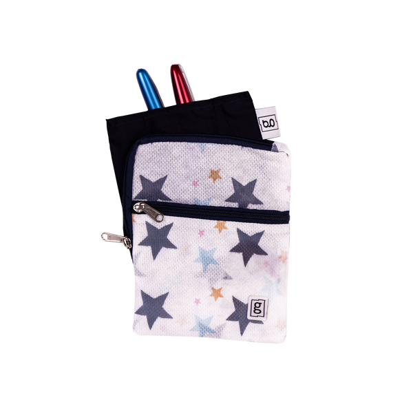 Glucology® Insulin Cooler Wallet Plus  | XL 5 Pen Wallet | Stars