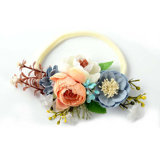 Gorgeous Mixed Flowers Headband