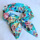 Sweet Floral Topknot Headband