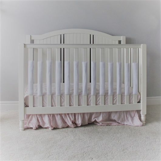 Crib Bumper Pad - Winter White