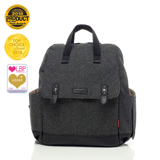 Robyn Convertible Backpack - Tweed
