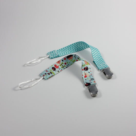 Pacifier Clips, Pack of 2
