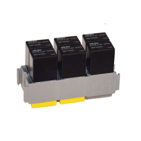 6 Micro Relay Module | Terminals & Secondary Locks included | KDU0106MR-M | Price inc GST: