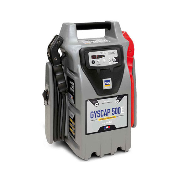 GYSCAP 500E Batteryless Booster | 12 Volt 1600 A starting current / 9000 A peak current | POA: