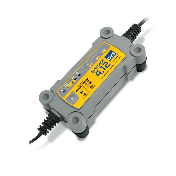 Battery Charger GYSFLASH 4.12 | 12 Volt 4 Amp |  Suit 1.2 to 70 Ah Batteries | Trade Price inc GST: