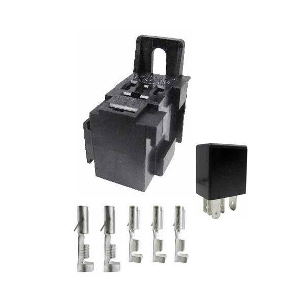 Micro relay 12 volt Change Over & Fitment Kit