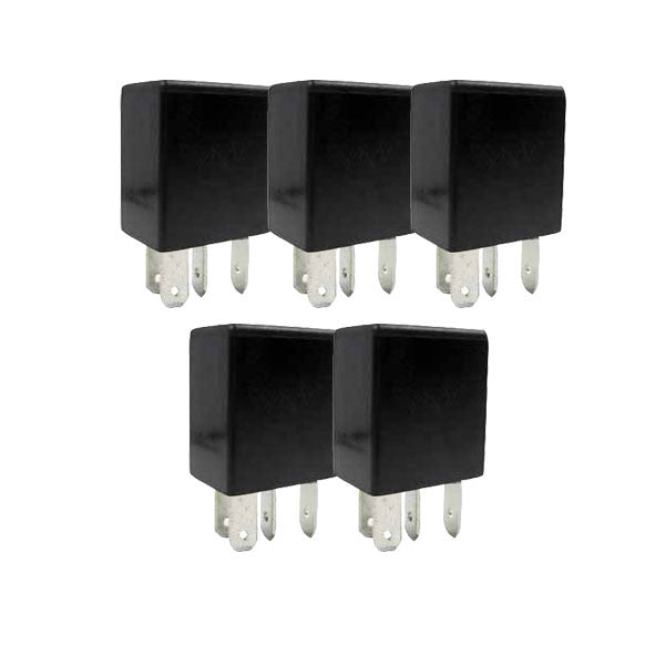 5 Pack | Micro Relay 24 Volt 15 Amp Normally Open 4 Pin | 2415-N0-AR5  Pin Micro Relay Wiring on