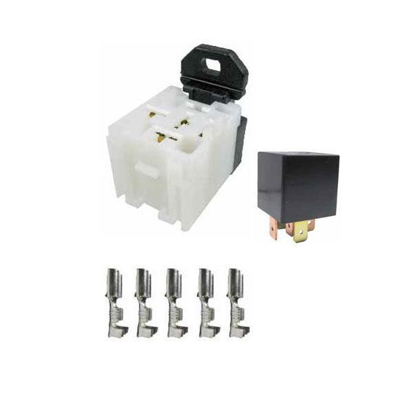 Mini Relay 24 Volt 20/15 Amp Change Over Normally Closed (5 Pin) Kit | 24V2015COR-C | Price inc GST: