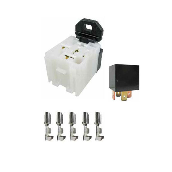 Mini Relay 24 Volt 20 Amp & Fitment Kit | 24V20A4PRM-C | Price inc GST: