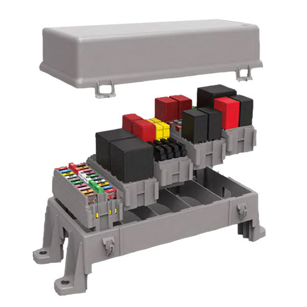 Five Module Frame & Cover | Lateral Lock for Additional Modules | PDMH0105FC | Price inc GST: