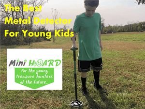 The Best New Metal Detector For Young Kids - Nokta Makro Mini Hoard