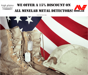 Minelab Military Discount Policy & Acceptable Proof of Military Service