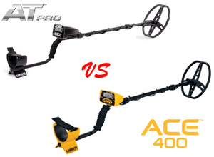 What is The Difference Between the Garrett AT Pro and ACE 400 Metal Detectors?