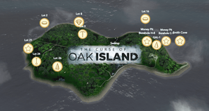 What Has Been Found on Oak Island - With a Metal Detector