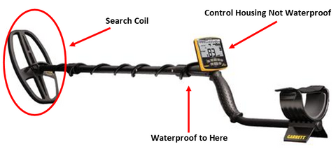 will a metal detector work in the water