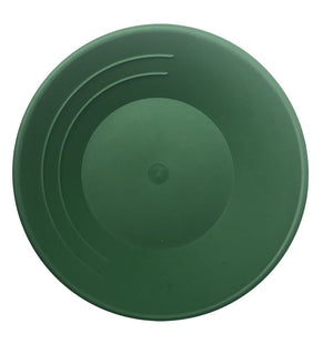"10"" Basic Gold Pan - Choice of Black or Green Gold Prospecting Jobe Green"