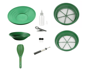 10 Piece Basic Gold Panning Kit