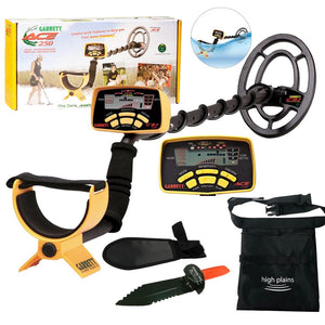 GARRETT ACE 250 Metal Detector with Waterproof Search Coil and Extra FREE Gear