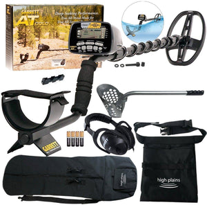 Garrett AT Gold Waterproof Metal Detector Beach Hunter Package
