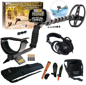 Garrett AT Gold Waterproof Metal Detector Trailblazer Bundle