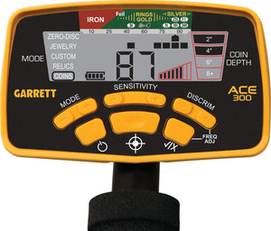 Garrett Ace 300 Metal Detector, with Pro Pointer AT Bundle