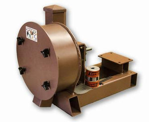 "K & M Krusher - Rock/Ore Crusher 11"" Drum 2-1/2"" Infeed-Rockwell #58 Hammers Electric/No Motor"