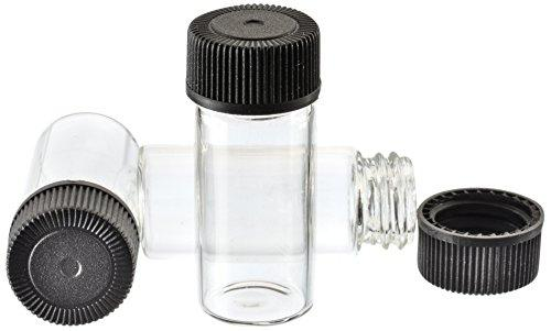 "144 Pc. Display - 4ml Glass Vials (1-3/8"", Outer Diameter; 9/16"")"