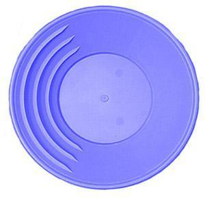 Blue 10 1/2 Inch Gold Pan-1849