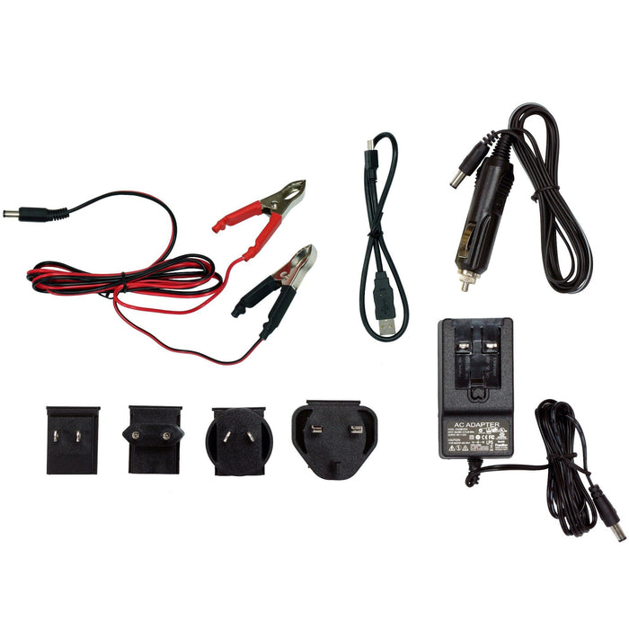 Minelab Adaptors, Chargers and Cables Kit