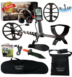 Minelab EQUINOX 600 Metal Detector with 15 Inch Smart Coil