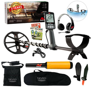 Minelab EQUINOX 600 Metal Detector Treasure Seeker Bundle with Pro-Find 15