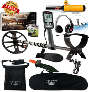 Minelab EQUINOX 600 Metal Detector with Waterproof Pro-Find 35 Pointer