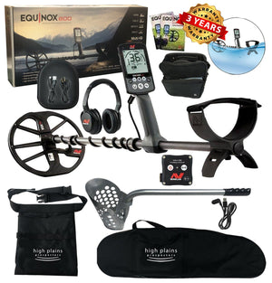 Minelab EQUINOX 800 Metal Beach Hunter Package