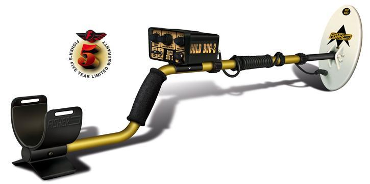 "Gold Bug 2 Nugget Hunter Metal Detector 10"" Coil"