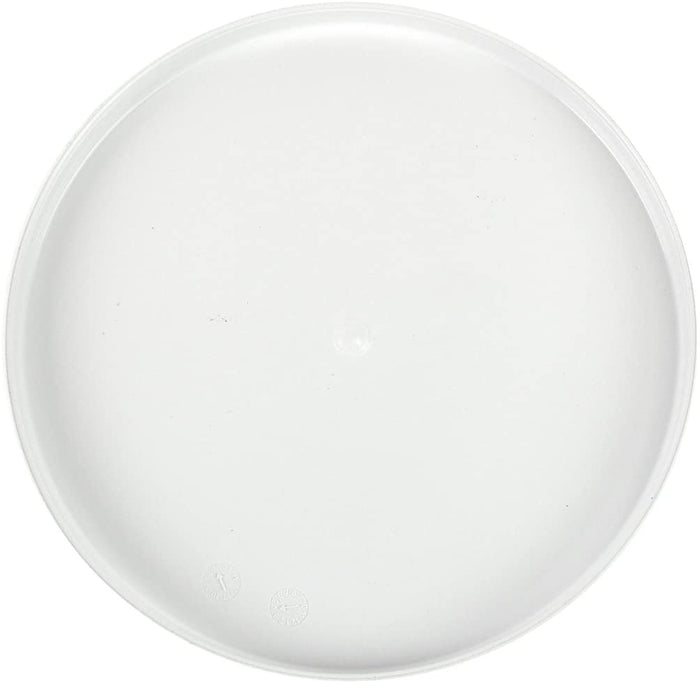 "Minelab 8"" Skidplate, White"