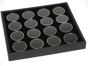 7 x 8 DISPLAY TRAY WITH 16 GEM JARS