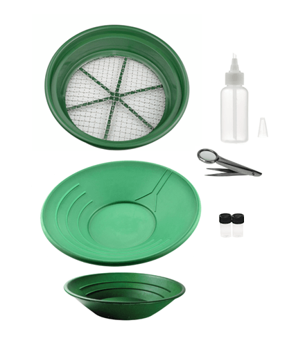 7 Piece Basic Gold Panning Kit