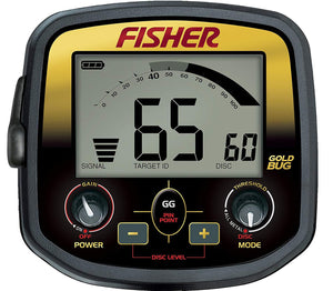 Fisher Gold Bug Metal Detector Bundle with Free Gear